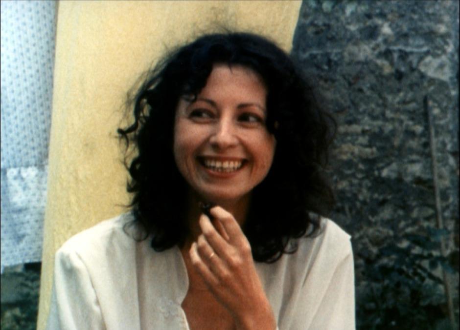 Delphine (Marie Rivière) dans Le Rayon Vert
