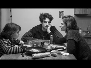 Olga Milshtein, Louis Garrel and Anna Mouglalis