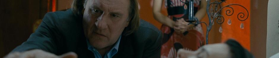Benjamin (Gérard Depardieu) is a full presence, a broken king in his own domain. With Sabine Lenoël.