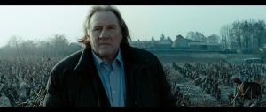 Gérard Depardieu plays Benjamin, the grey, sad viticulturist and Eriko Takeda disturbs the tombs in his eyes.